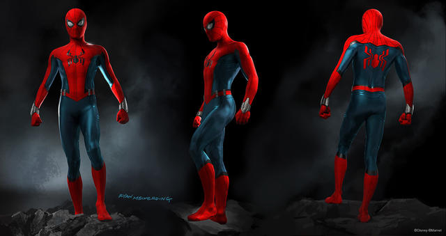 Disney Parks' Spider-Man Suit Design by Ryan Meinerding